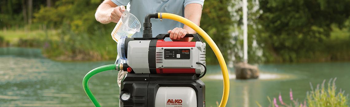 Husvandværker | AL-KO husvandværker i brug