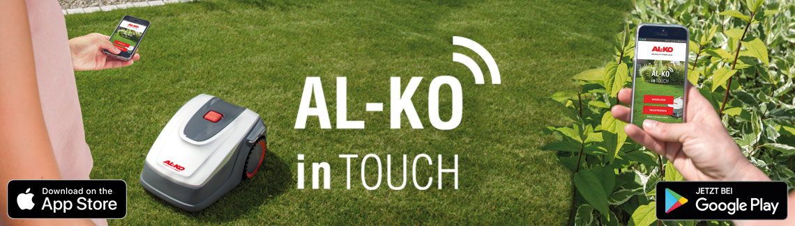 Robotklippere | AL-KO inTouch App
