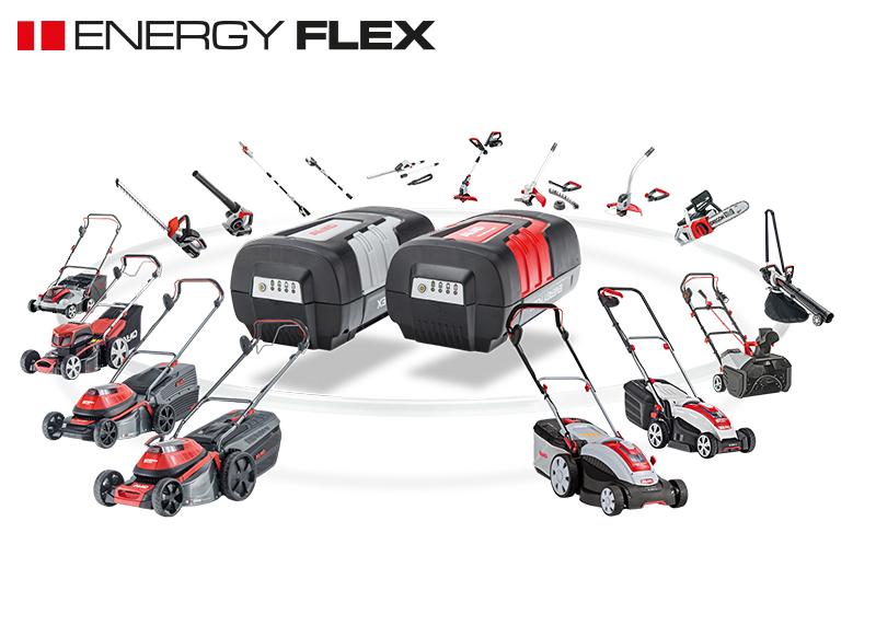 Batteridrevne havemaskiner | AL-KO Energy Flex sortiment