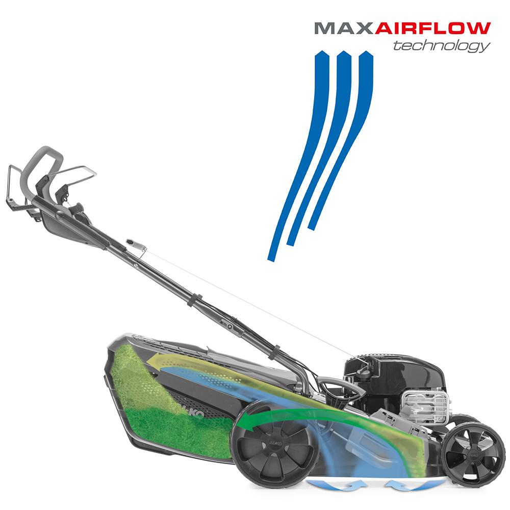 Plæneklipper | AL-KO MaxAirflow Technology flowforhold