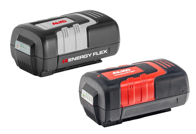 Batteridrevne havemaskiner | AL-KO Energy Flex batterier