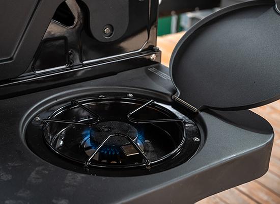 BBQ | AL-KO Masport Grill med praktisk sidebrænder