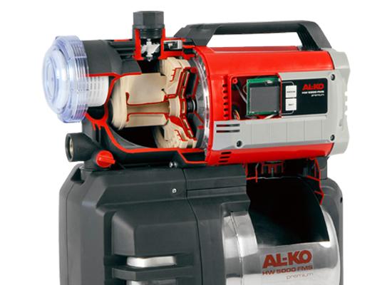 Husvandværker | AL-KO overvågning af tanktryk