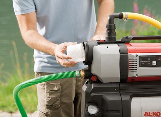 Husvandværker | AL-KO husvandværker med integreret XXL-forfilter
