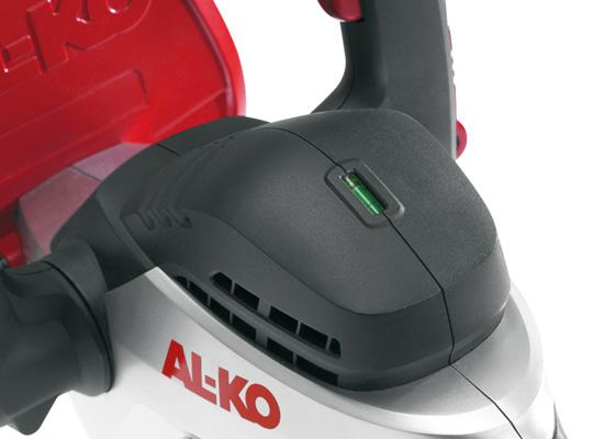 AL-KO Hækkeklippere fordele | Integreret vaterpas
