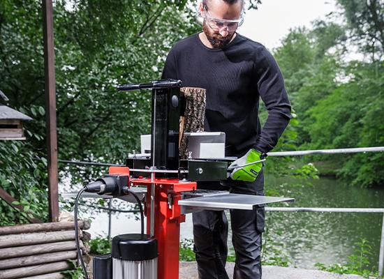 Brændekløvere | AL-KO Træstøtte på kløvebordet