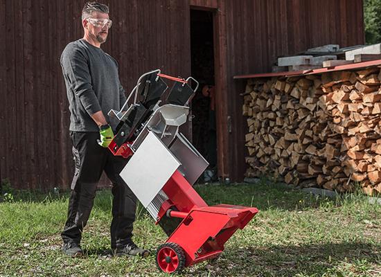 Brændekløver | AL-KO Mobil brændekløver med hjul