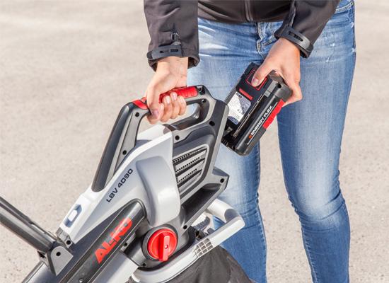 AL-KO Løvsuger og løvblæsere fordele   Batteridrevet serie