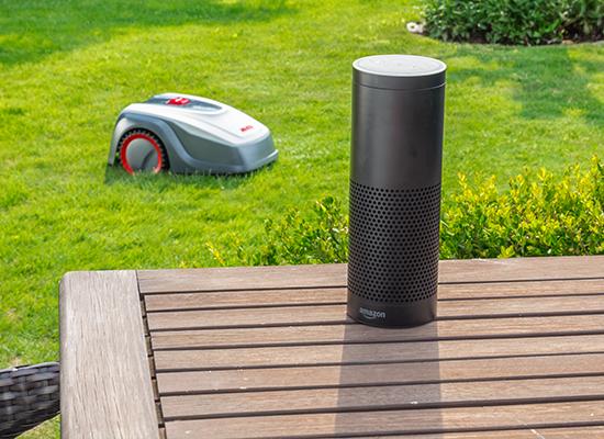 AL-KO robotklippere fordele | AL-KO Robolinho® kompatibel med Amazon Alexa og IFTTT