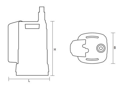Wasserpumpen | AL-KO Tauchpumpe Maße