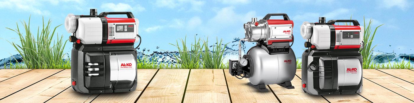 Husvandværker & pumpeautomater